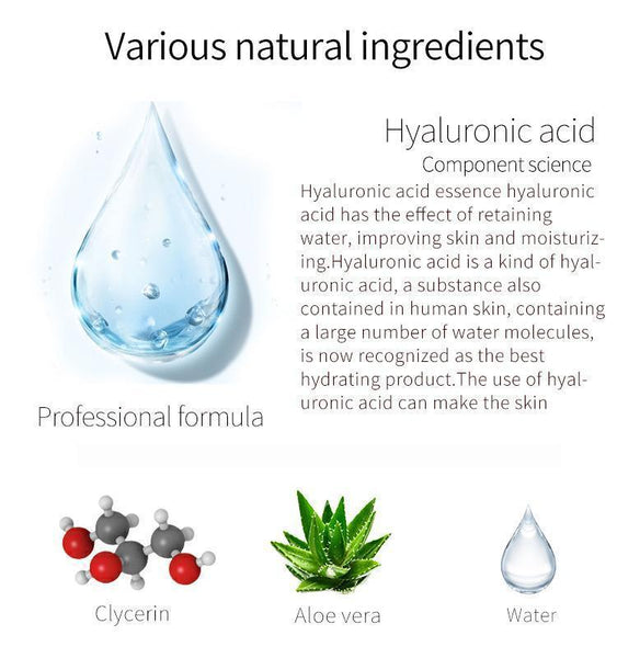 Japan MITOMO Natural Hyaluronic Acid Moisturizing Facial Essence Mask MT612-C-4