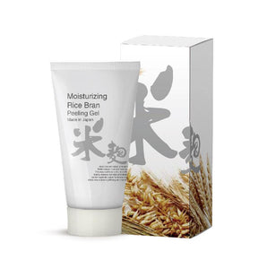 Japan MITOMO Moisturizing Rice Bran Peeling Gel TX001-C-150
