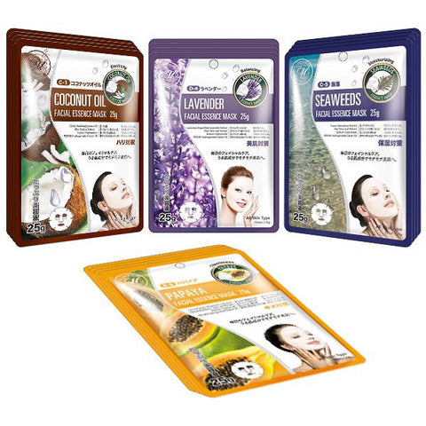[TKMT00562-03-016]Mitomo Facial Hydration Skincare Beauty Face Mask Sheet bundles: 4 types – 16 packs