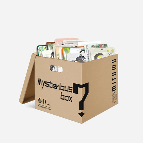 SET C. Mystery Box 60PCS MITOMO Japan Mask Sheet Double Your Value [MBLB00060]