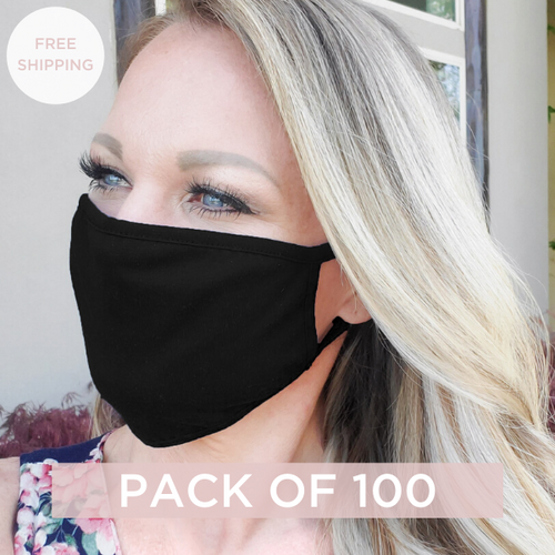 Reusable Face Mask - Pack of 100