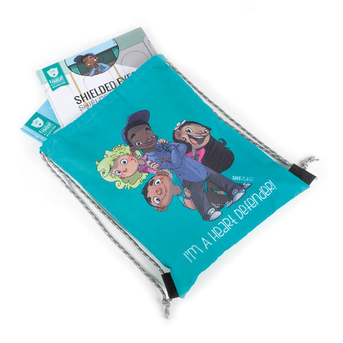 SAFE Hearts Book Bag