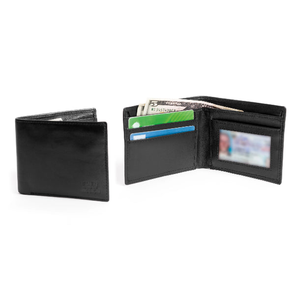 Billy Fold Leather RFID Wallet