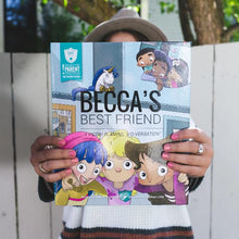 Load image into Gallery viewer, SAFE Hearts Book - Becca's Best Friend