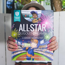 Load image into Gallery viewer, SAFE Hearts Book - All-Star Dugout Dreams
