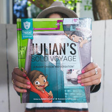 Load image into Gallery viewer, SAFE Hearts Book - Julian's Solo Voyage