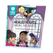 Load image into Gallery viewer, SAFE Hearts Book - Healed Hearts Heal Hearts