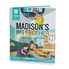 Load image into Gallery viewer, SAFE Hearts Book - Madison's Big Brother