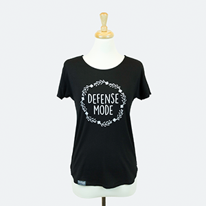 Defense Mode Shirt - Black