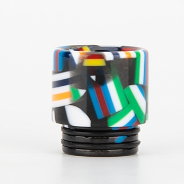 810 Flag Style Drip Tip - 6 Colour Choice