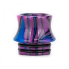 810 Mixed Coloured Concave Tips - 9 Colour Choice