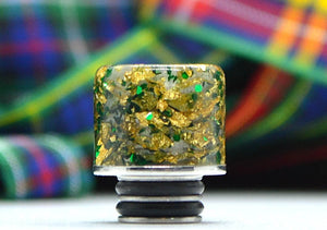 Gold & Green Sparkle Straight - WB