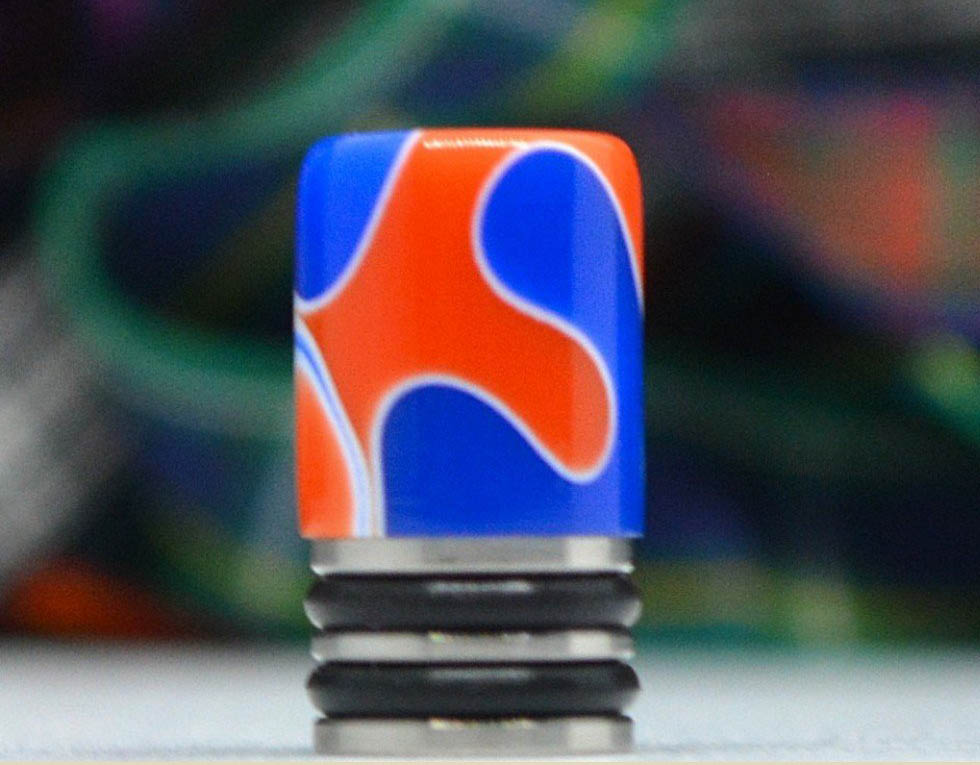 Siam Slim Blue & Orange Straight - SB