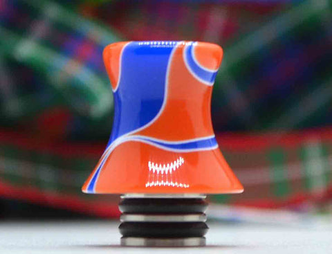 Orange & Blue Swirl Tower - SB