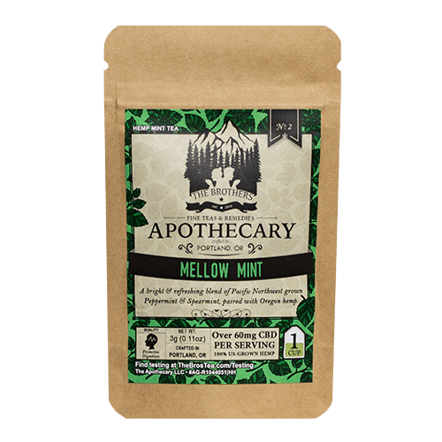 The Brothers Apothecary | Mellow Mint Tea - CBD Teas