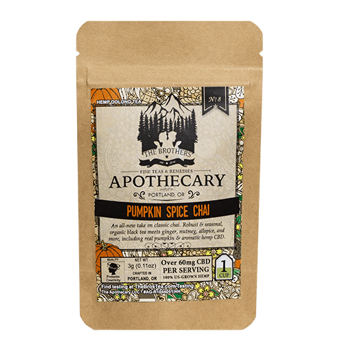 The Brothers Apothecary | Pumpkin Chai Tea - CBD Teas