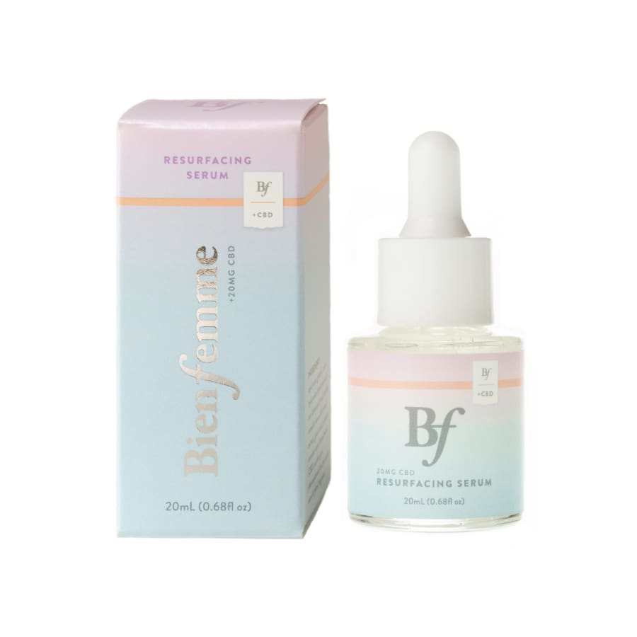 Bien Femme | Resurfacing Face Serum +CBD - CBD Cosmetics