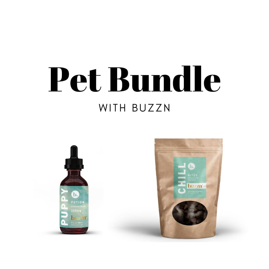 Buzzn | Pet Bundle with Chill Bites and Puppy Potion - 1937 Bundles
