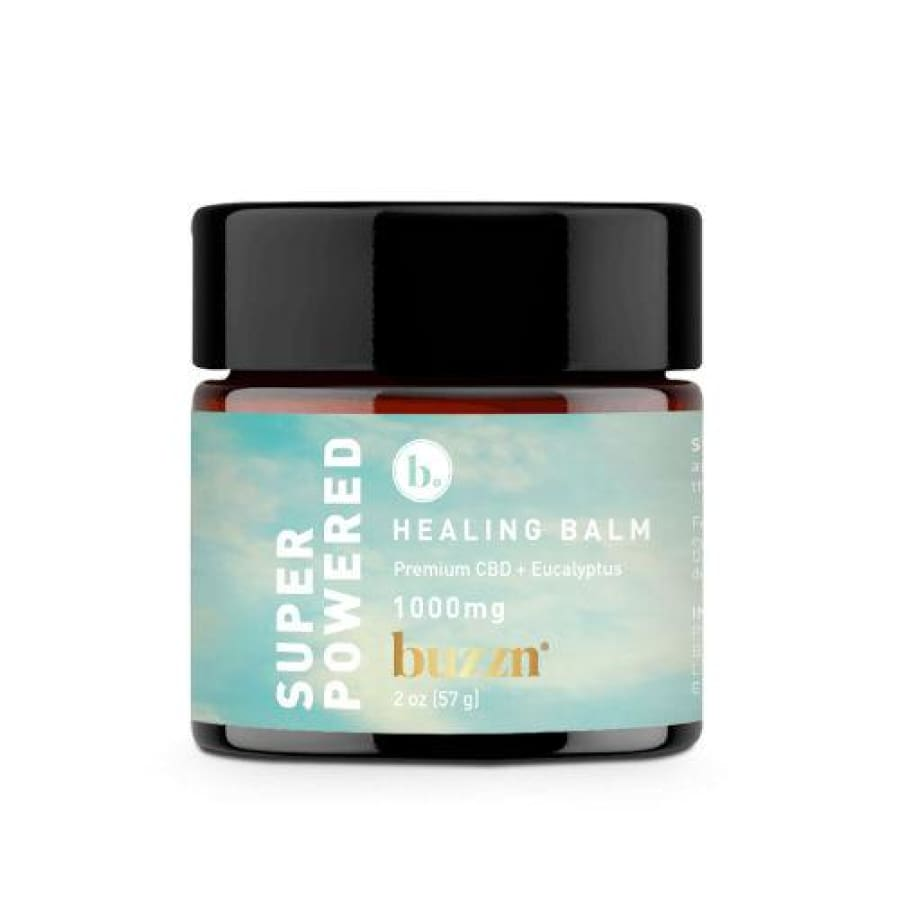 Buzzn | Super Powered Healing Balm with Eucalyptus (2oz 1000mg) - CBD Topicals