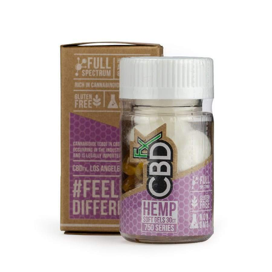 CBDfx | CBD Oil Softgels (30ct 750mg) - CBD Capsules