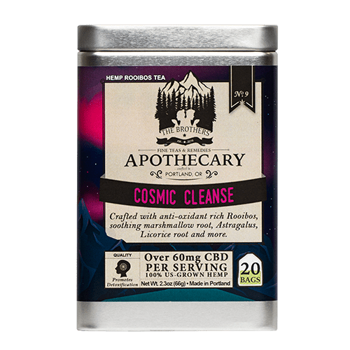 The Brothers Apothecary | Cosmic Cleanse Tea - CBD Teas