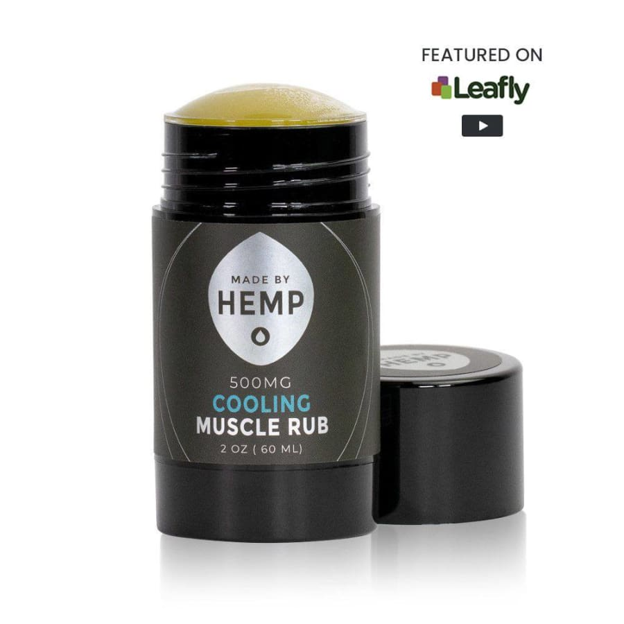 Made By Hemp | Cooling Muscle Rub (2oz 500mg) - CBD Topicals
