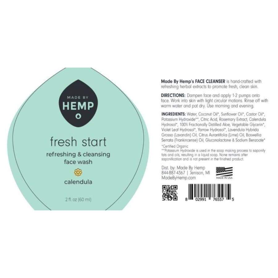 Made By Hemp | Face Cleanser (2 oz.) - CBD Cosmetics