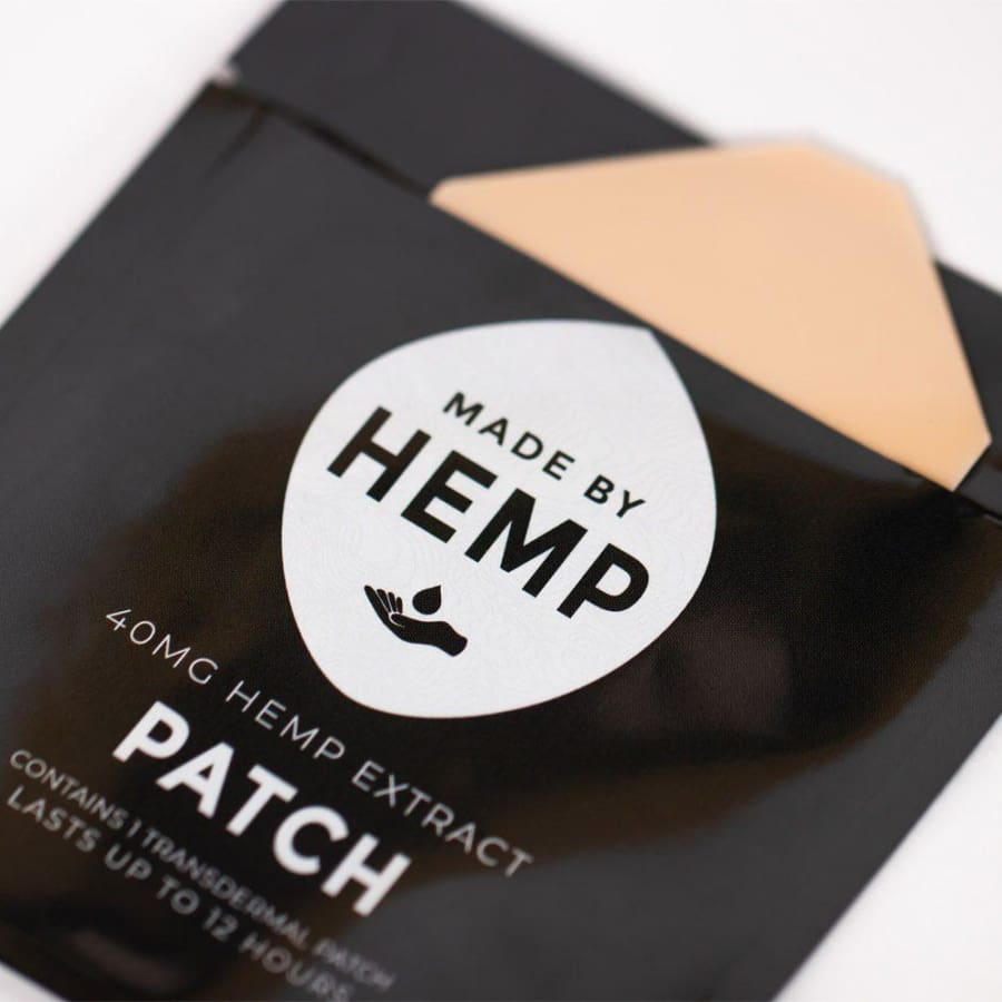 Made By Hemp | Hemp Patch (1 Patch 40mg) - CBD Topicals