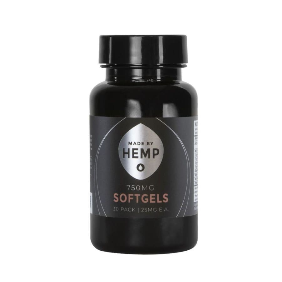 Made By Hemp | Softgels (30ct 750mg) - CBD Capsules
