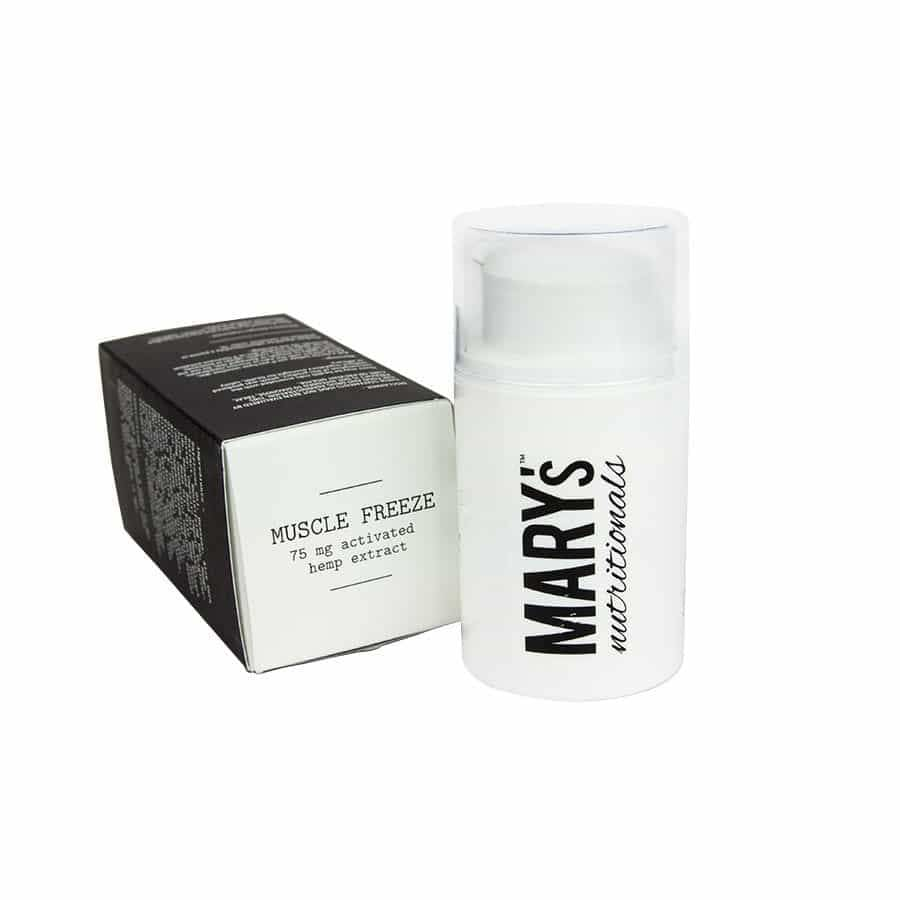 Marys | Mini Muscle Freeze (1.5oz 75mg) - CBD Topicals