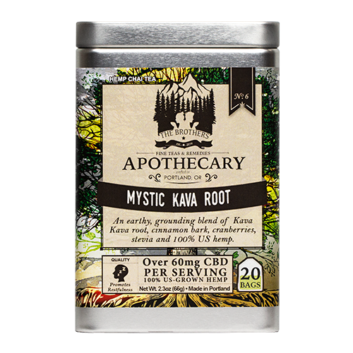 The Brothers Apothecary | Mystic Kava Root Tea - CBD Teas