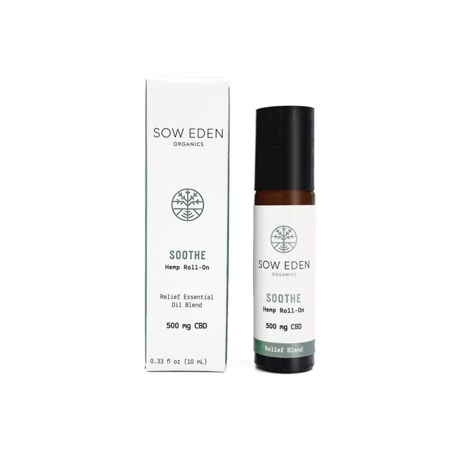 Sow Eden | Soothe CBD Relief Blend Roller (.33oz 500mg) - CBD Topicals