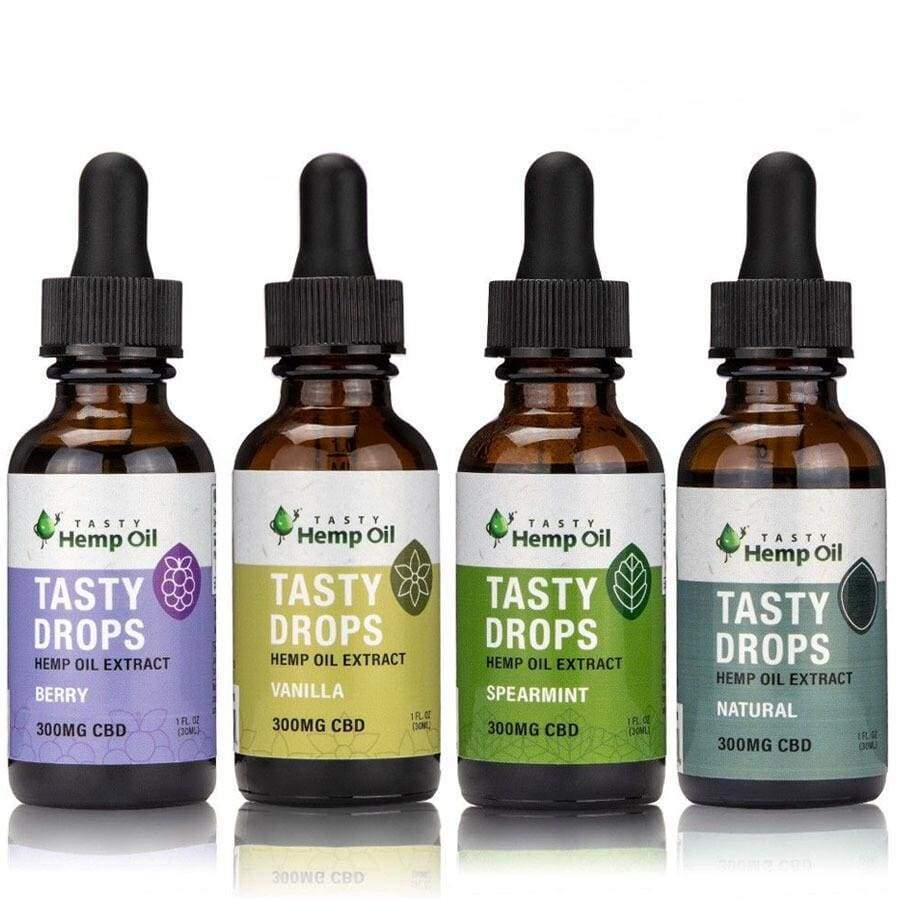 Tasty Hemp Oil | Tasty Drops CBD Tincture (300mg) - CBD Oils
