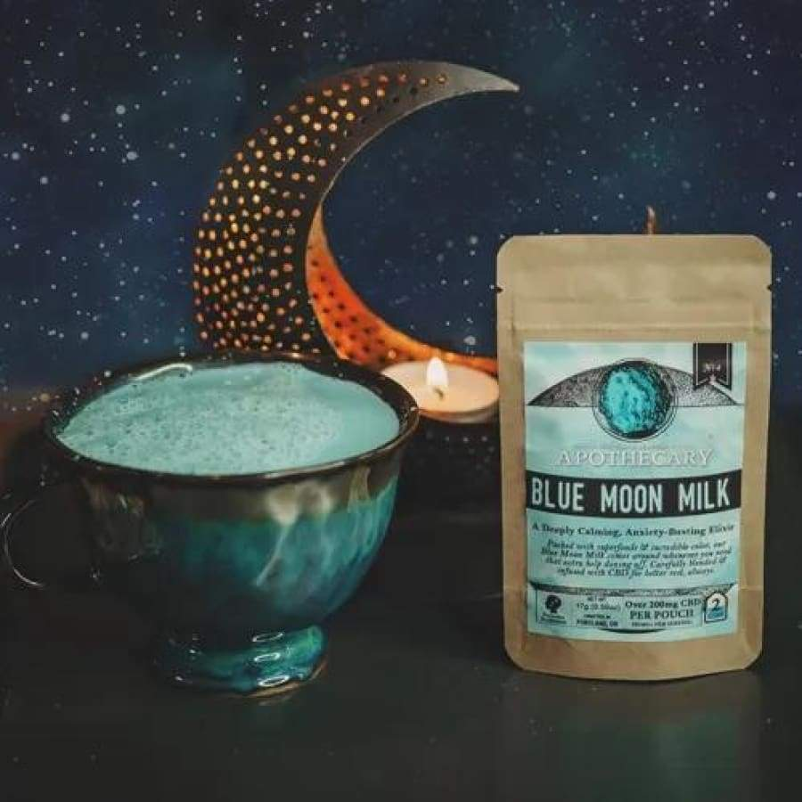 The Brothers Apothecary | Blue Moon Milk CBD Drink Mix - CBD Drink Mixes
