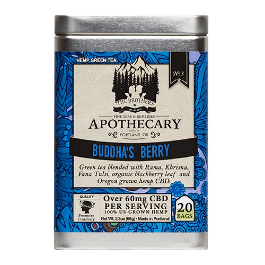 The Brothers Apothecary | Buddha's Berry Tea - CBD Teas