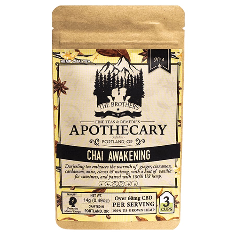 The Brothers Apothecary | Chai Awakening Tea - CBD Teas