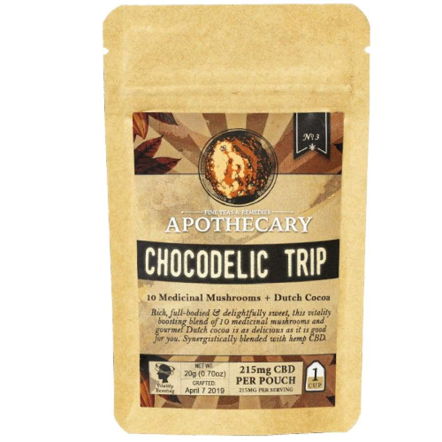 The Brothers Apothecary | Chocodelic Trip CBD Hot Cocoa Drink Mix - CBD Drink Mixes