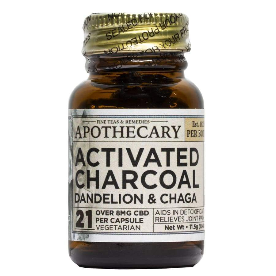 The Brothers Apothecary | Cleanse Activated Charcoal CBD Capsules (21ct) - CBD Capsules
