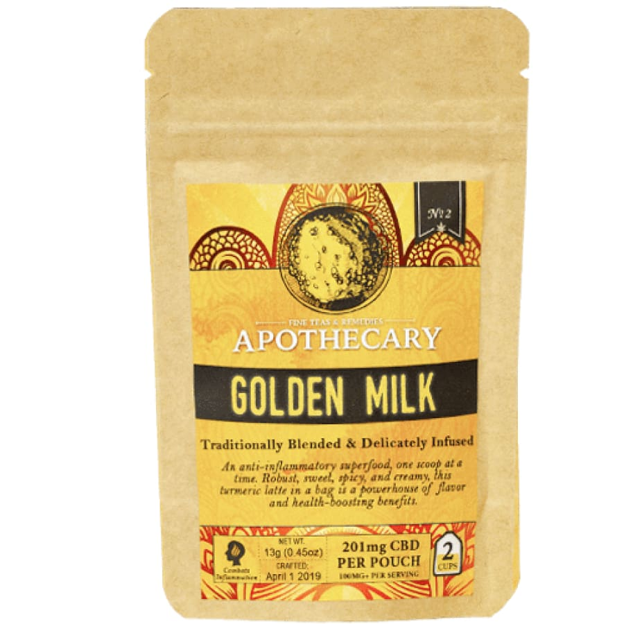 The Brothers Apothecary | Golden Milk Drink Mix - CBD Drink Mixes