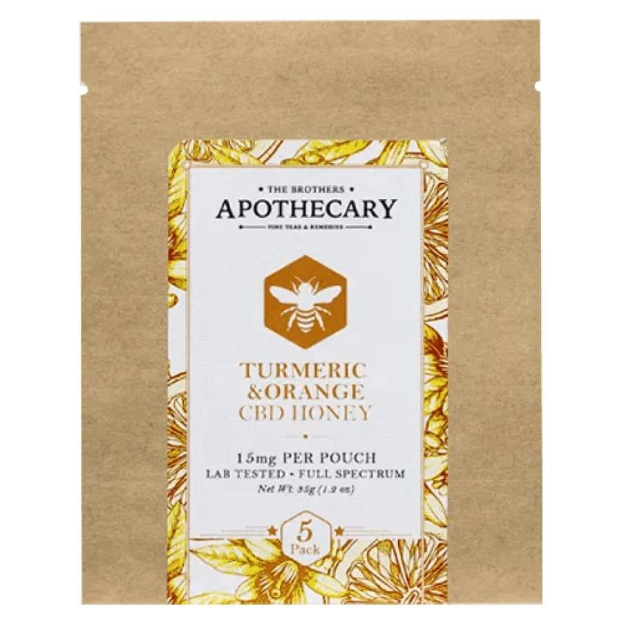 The Brothers Apothecary | CBD Orange Turmeric Honey - CBD Edibles