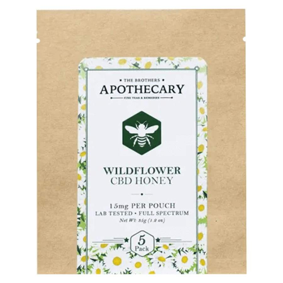 The Brothers Apothecary | CBD Wildflower Honey - CBD Edibles