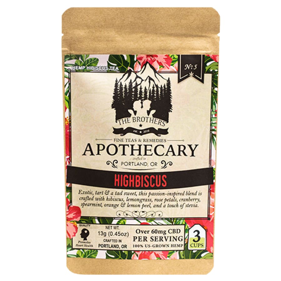 The Brothers Apothecary | Highbiscus Tea - CBD Teas