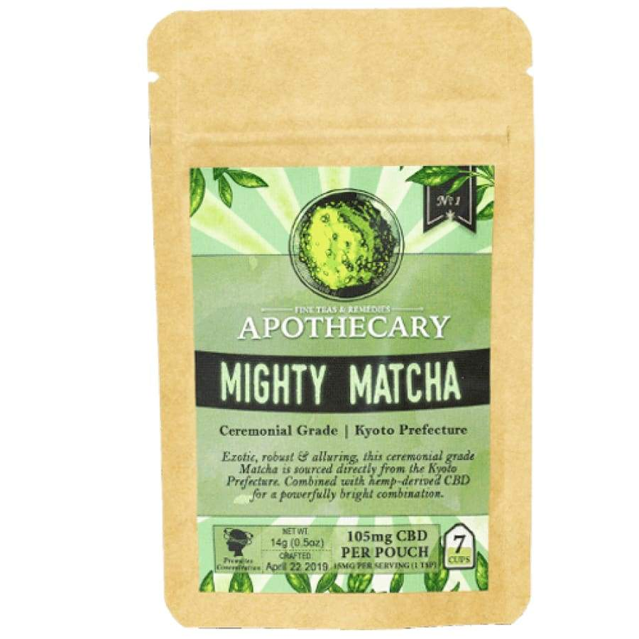 The Brothers Apothecary | Mighty Matcha Drink Mix - CBD Drink Mixes