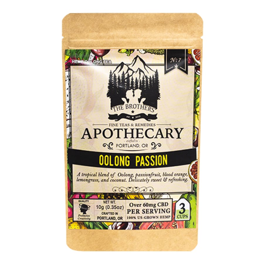 The Brothers Apothecary | Oolong Passion Tea - CBD Teas