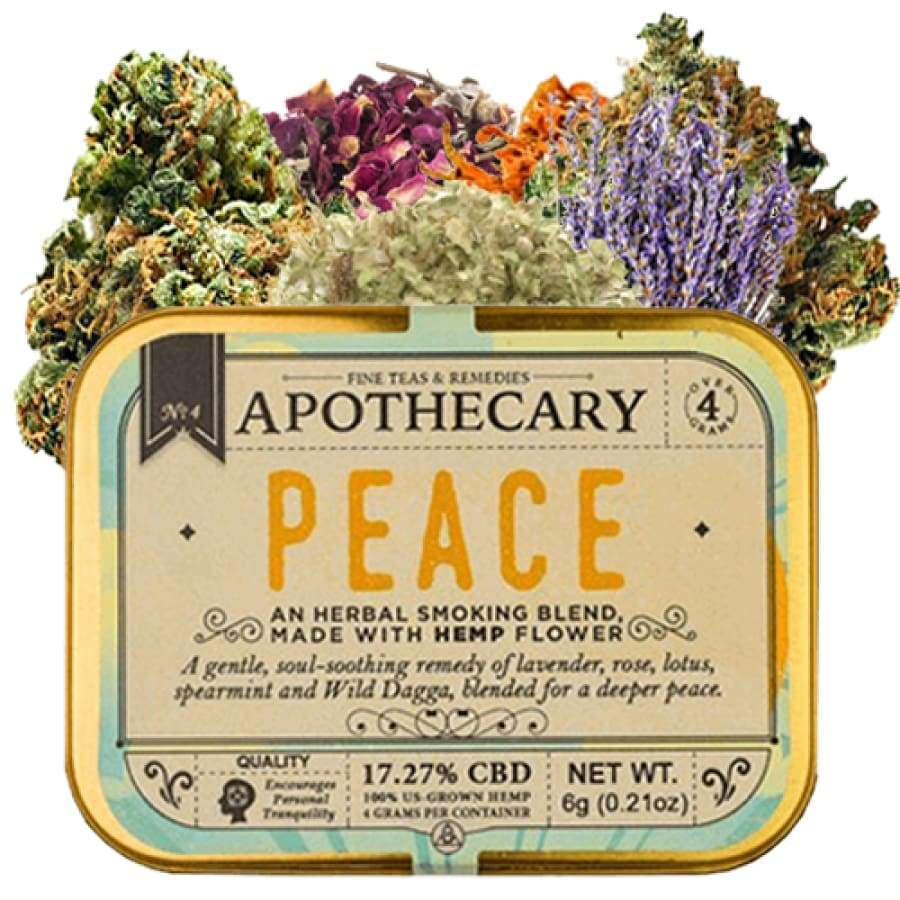 The Brothers Apothecary | Peace Hemp CBD Smoking Blend - CBD Smokeables