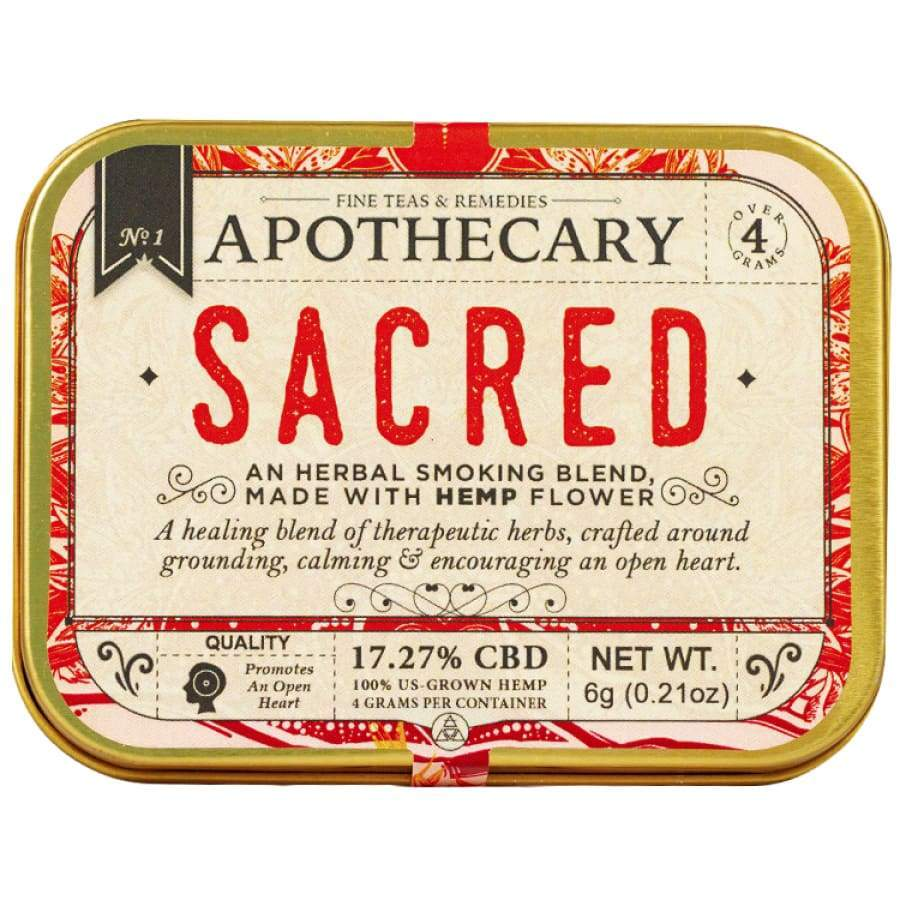 The Brothers Apothecary | Sacred Hemp CBD Smoking Blend - CBD Smokeables