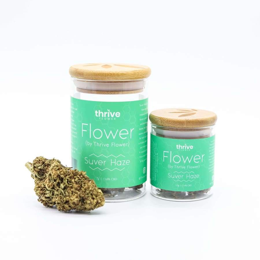 Thrive | CBD Flower (1/8-1/4oz) - CBD Smokeables