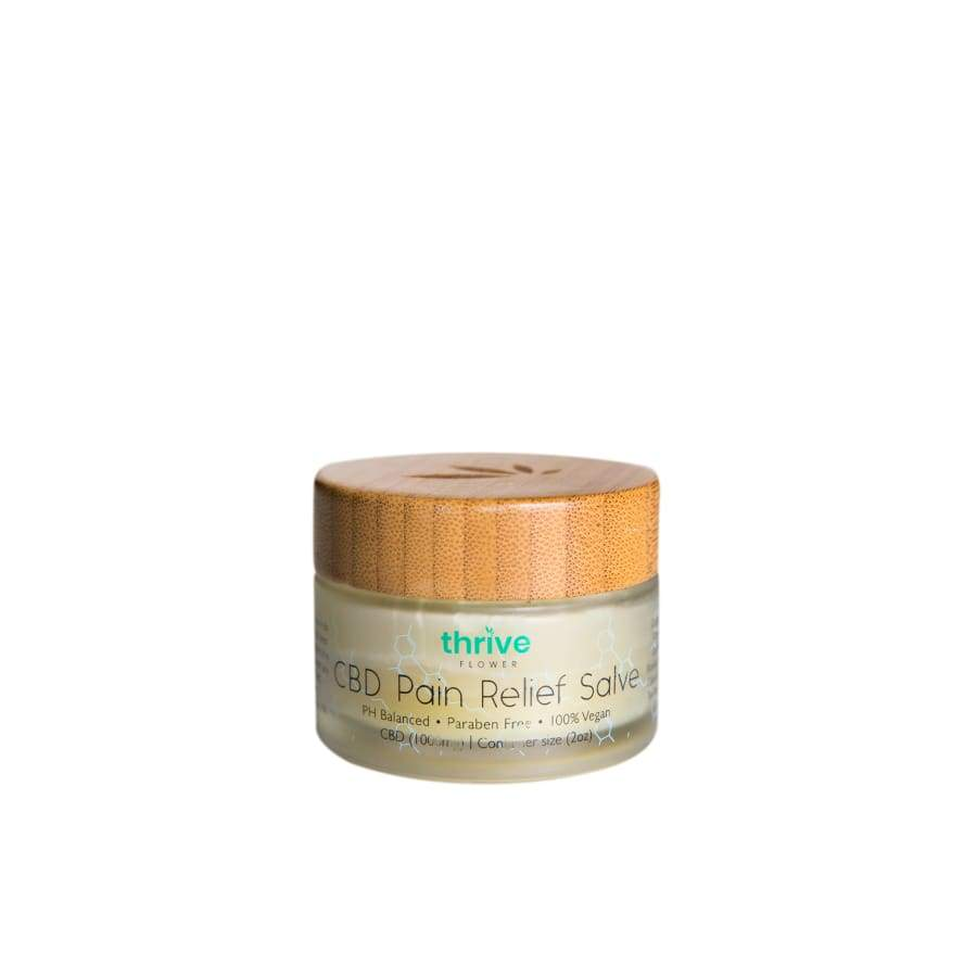 Thrive | CBD Pain Relief Salve (2oz 1000mg) - CBD Topicals