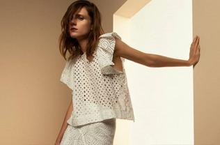 BRODERIE ANGLAISE - ISABEL MARANT MAINLINE SS15