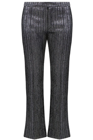 DENLO TAILORED PANT METALLIC SILVER
